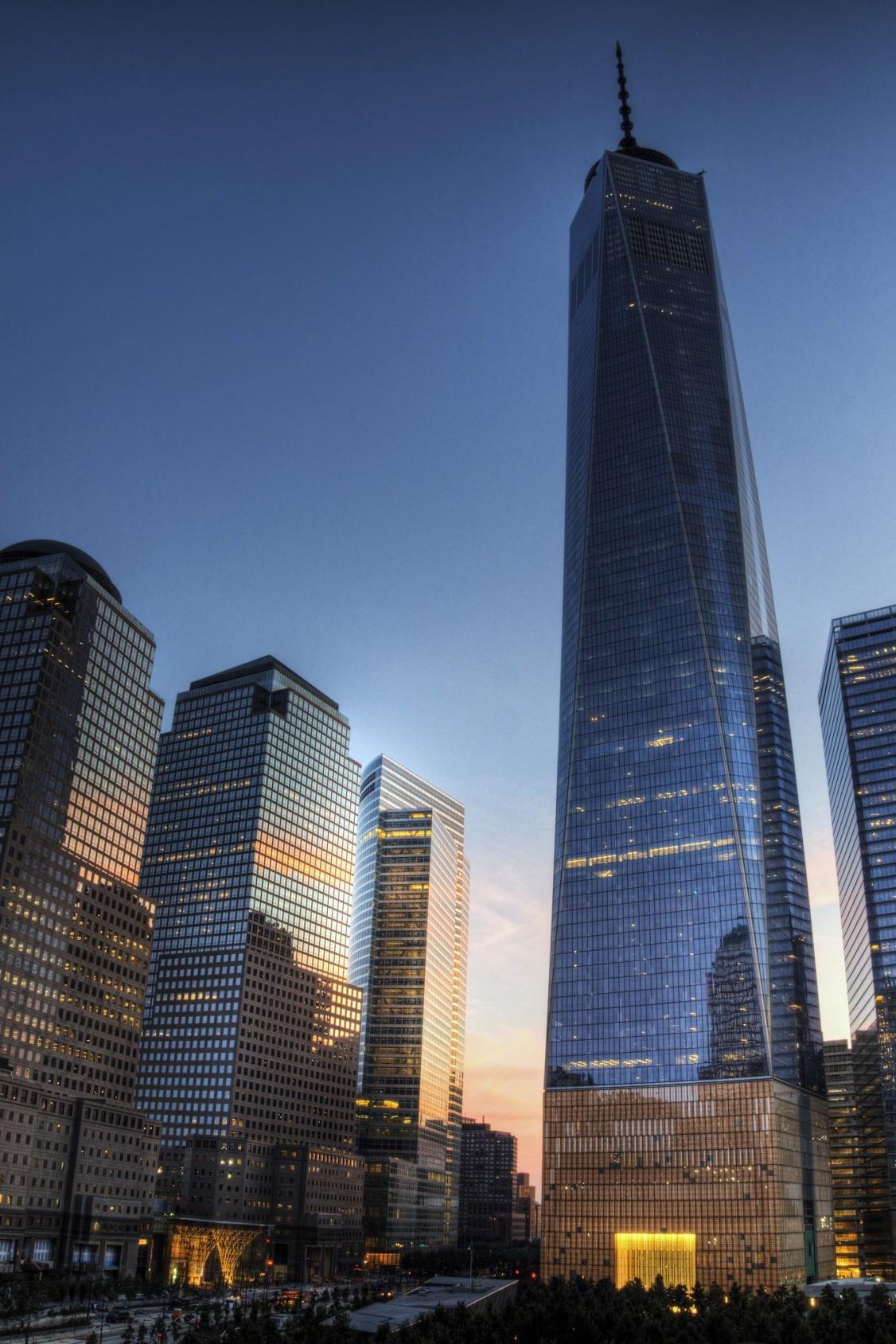 skyscraper office city architecture building urban glass tall