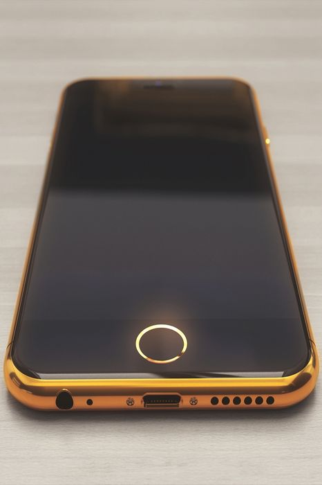 golden concept iphone 6