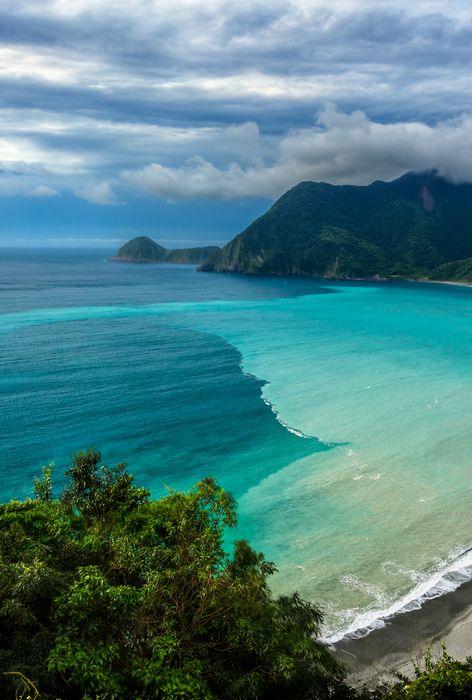 tropical beach water