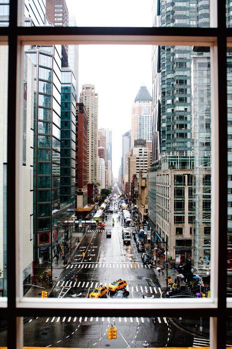 new york city window street