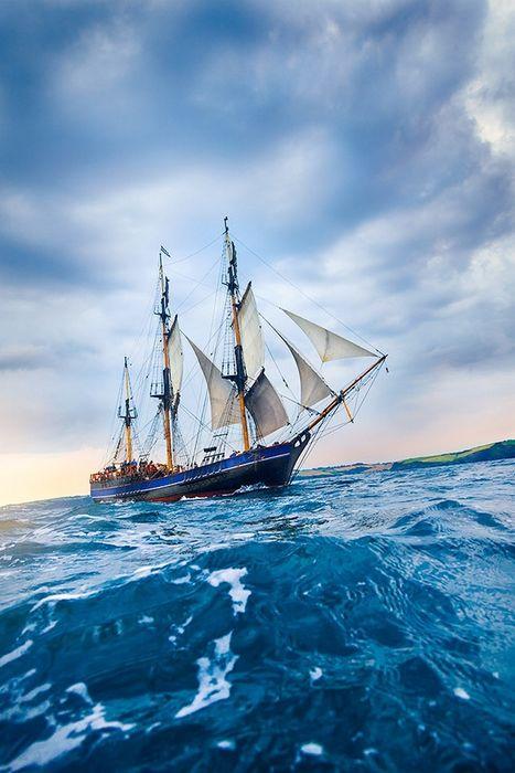 ships sailing ocean water