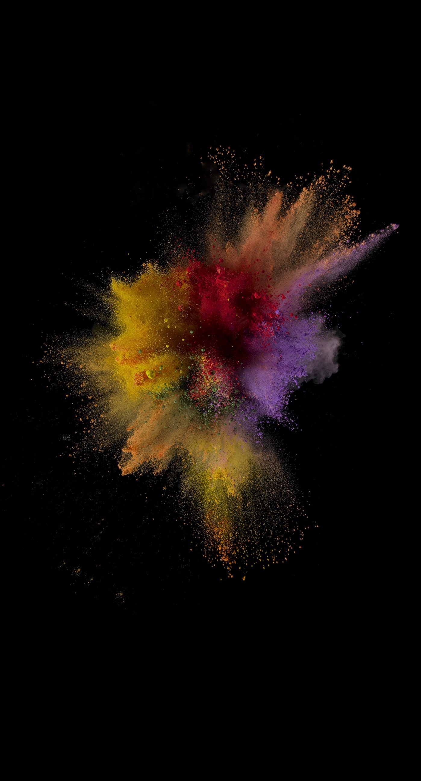 powder colorful background iphone wallpaper