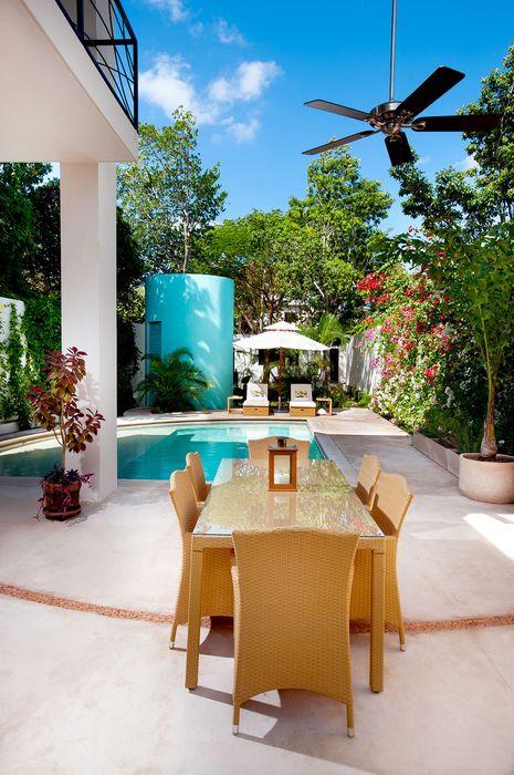 luxury house interior outdoor swimming pool
