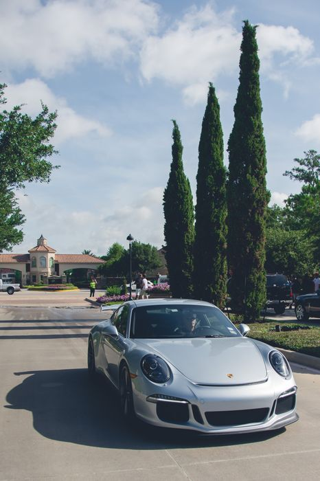 porsche 911 grey sportcar street house 1280x1920
