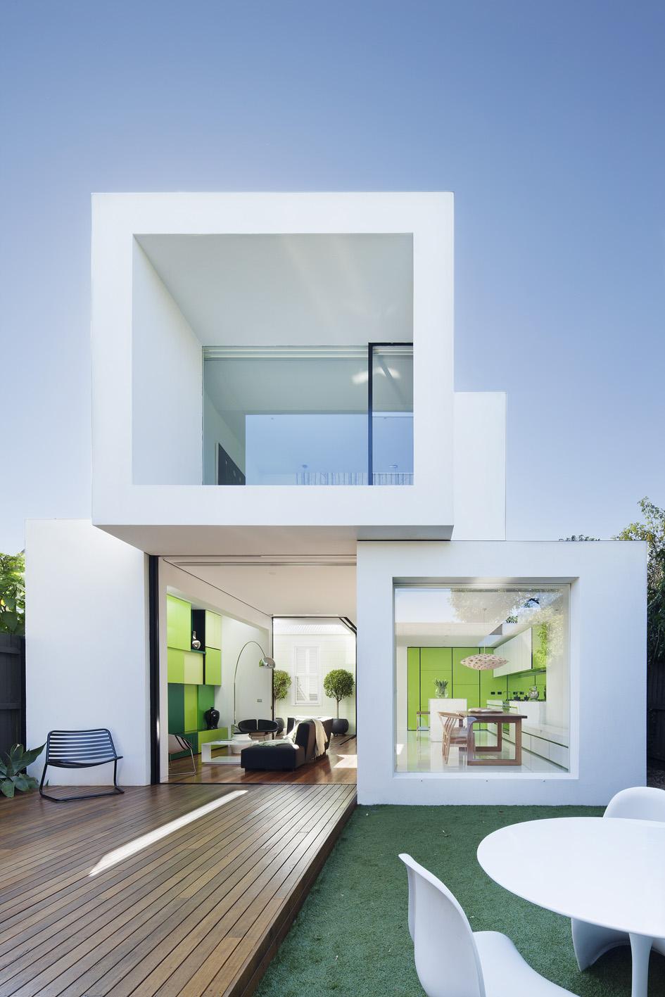 design white house squares modern