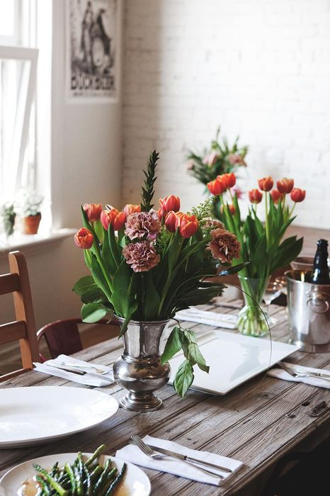 interior flowers table tulip