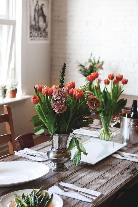 interior flowers table tulip