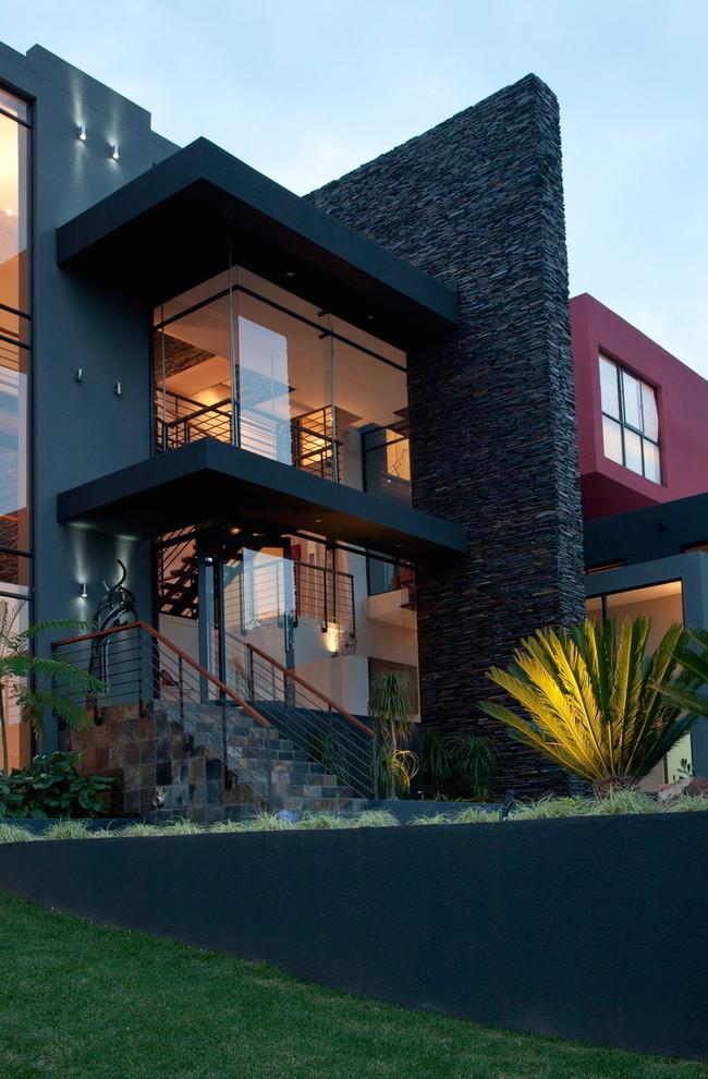black house modern
