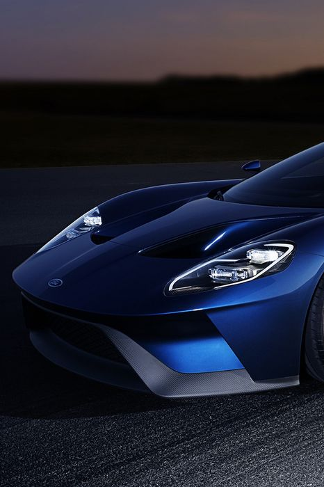 ford gt 2016 blue wallpaper