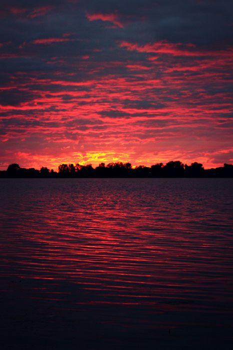 sunset star sunrise sky silhouette ocean dusk water retina
