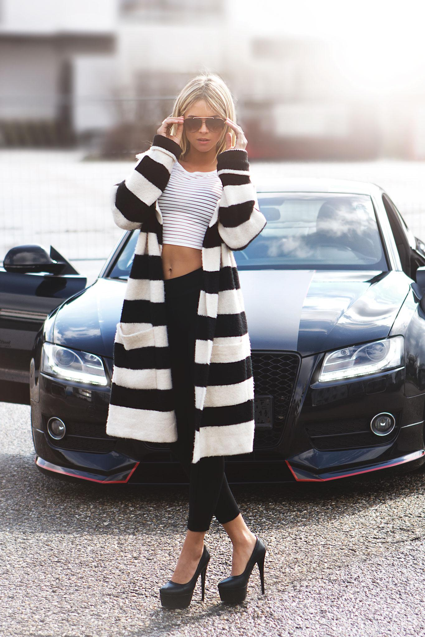 model girl diana retegan audi black
