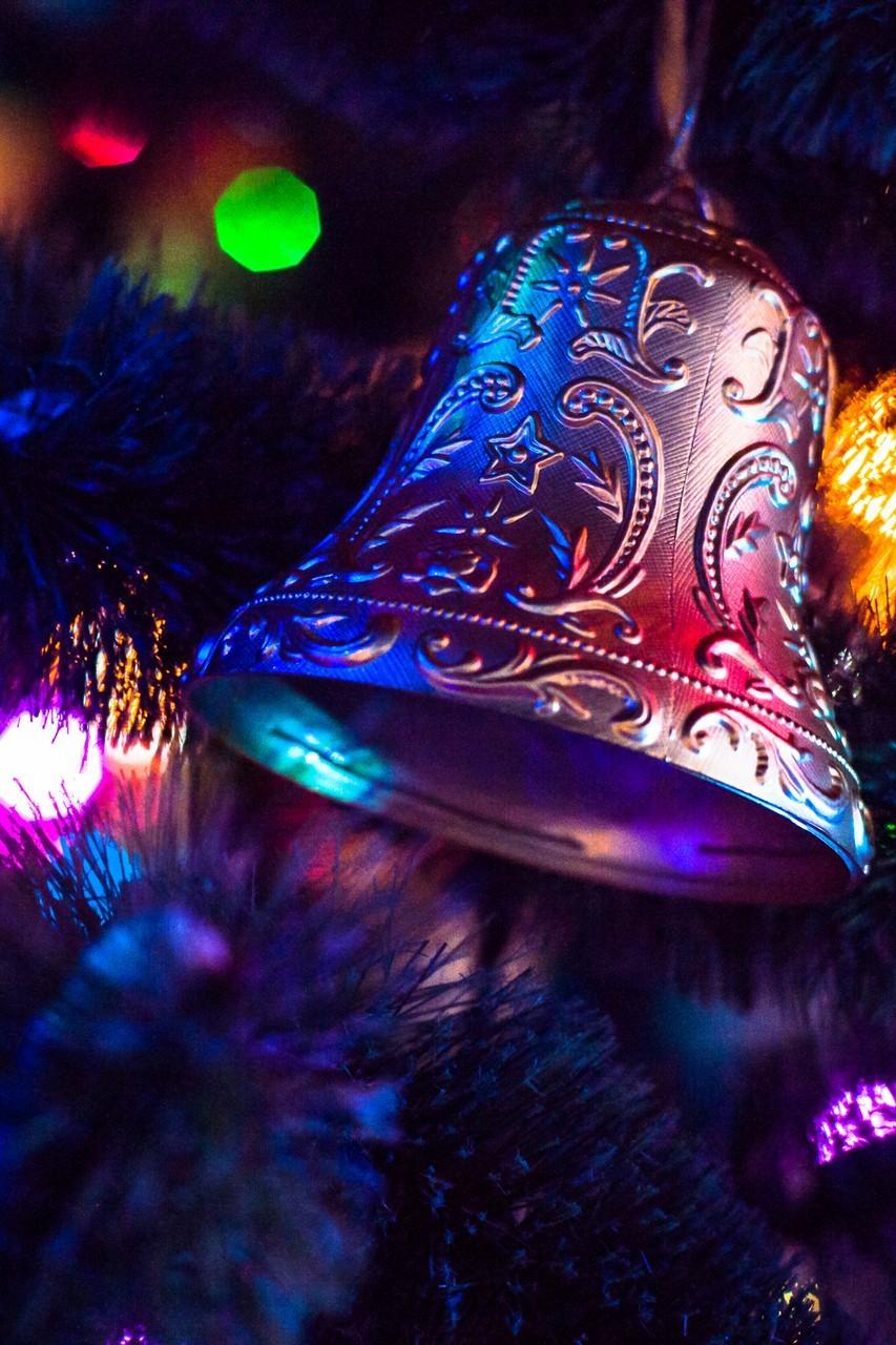 bell lights winter newyear