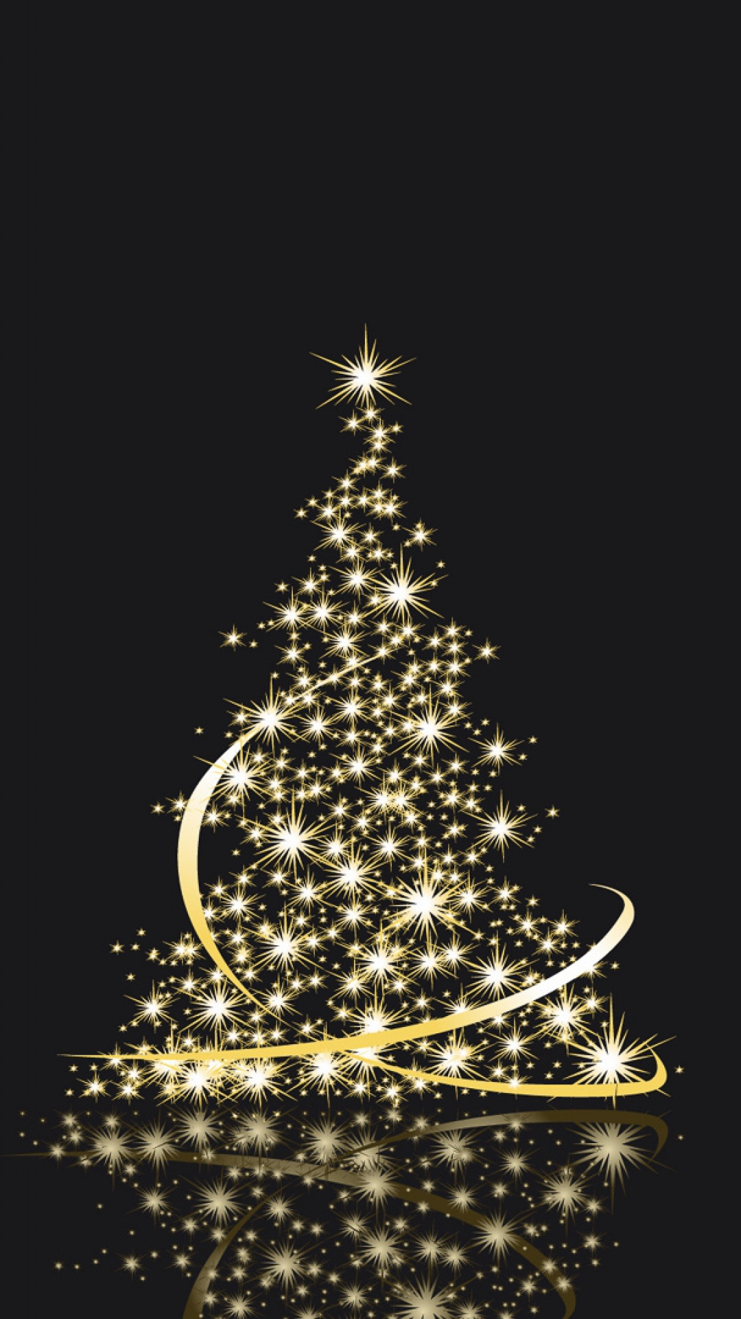 christmas christmastree lights background 1080x1920