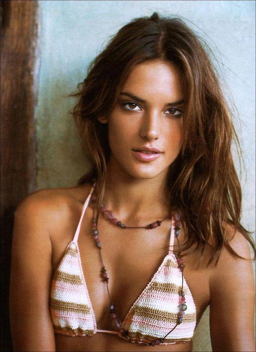 alexandra abrosio beautiful model