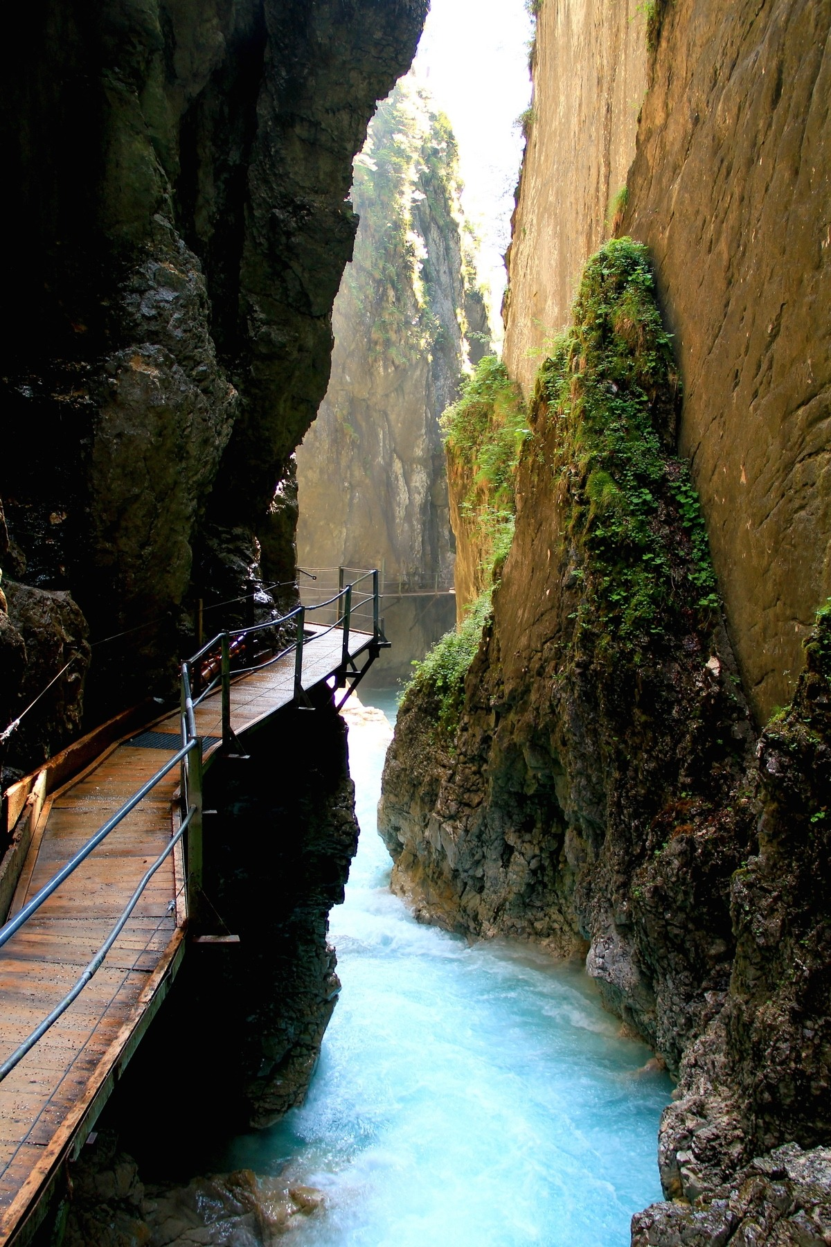 landscape mountain valley water rock geological formation cliff canyon travel river