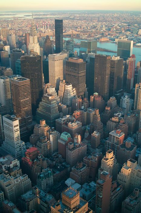 nyc city building business architecture urban sky cityscape