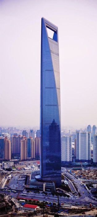 shanghai world financial center shanghai