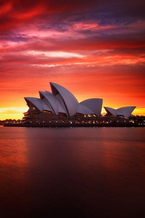 sydney sunset opera