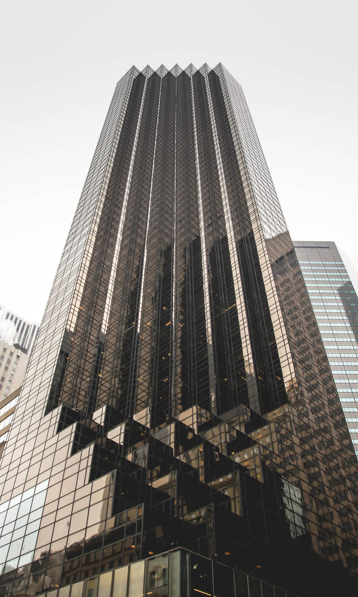 trump building newyork nyc glass tall