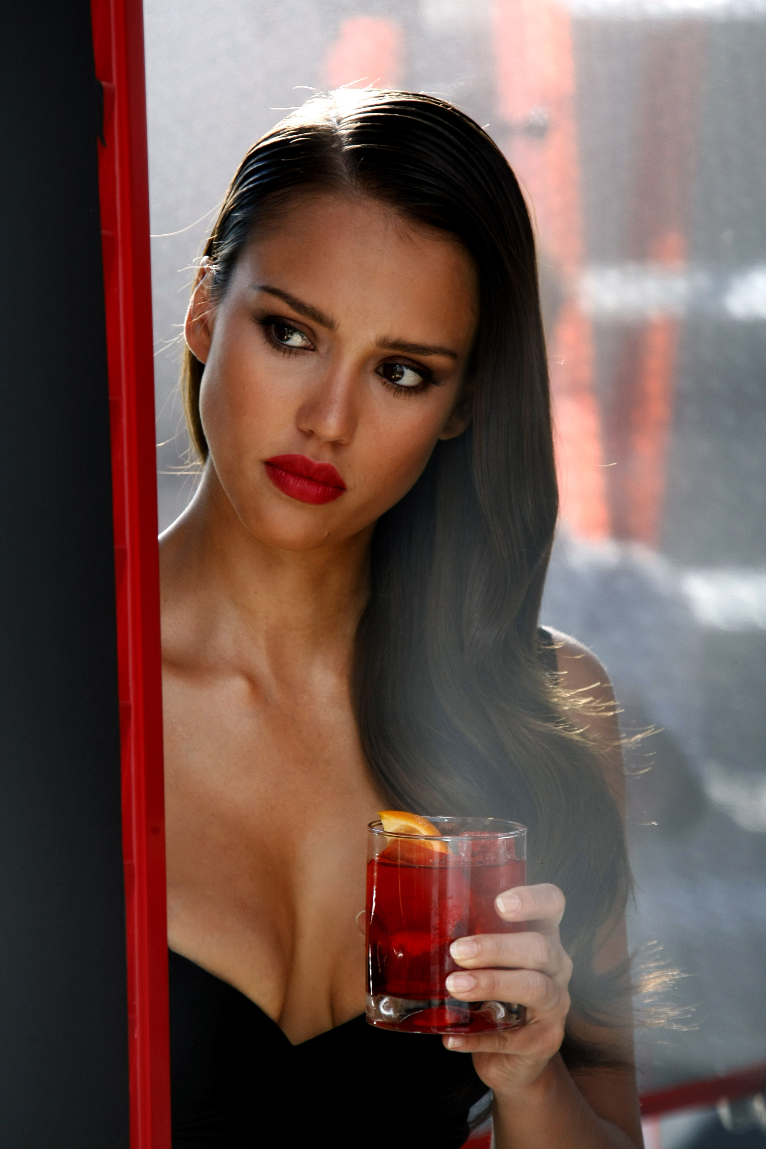 jessica alba girl attractive adult sexy hair portrait lady face