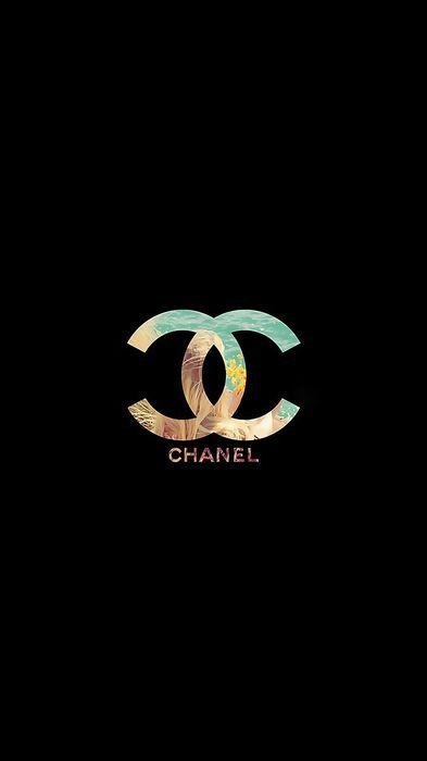 chanel fashion icon symbol sign design button set icons graphic circle black