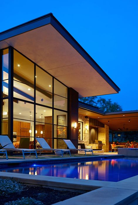 luxury house design swimmingpool