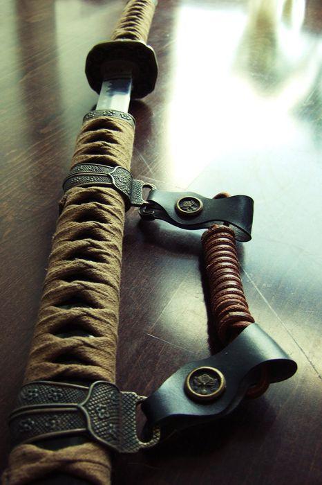 macro photo katana screw weapon metal tool gear steel