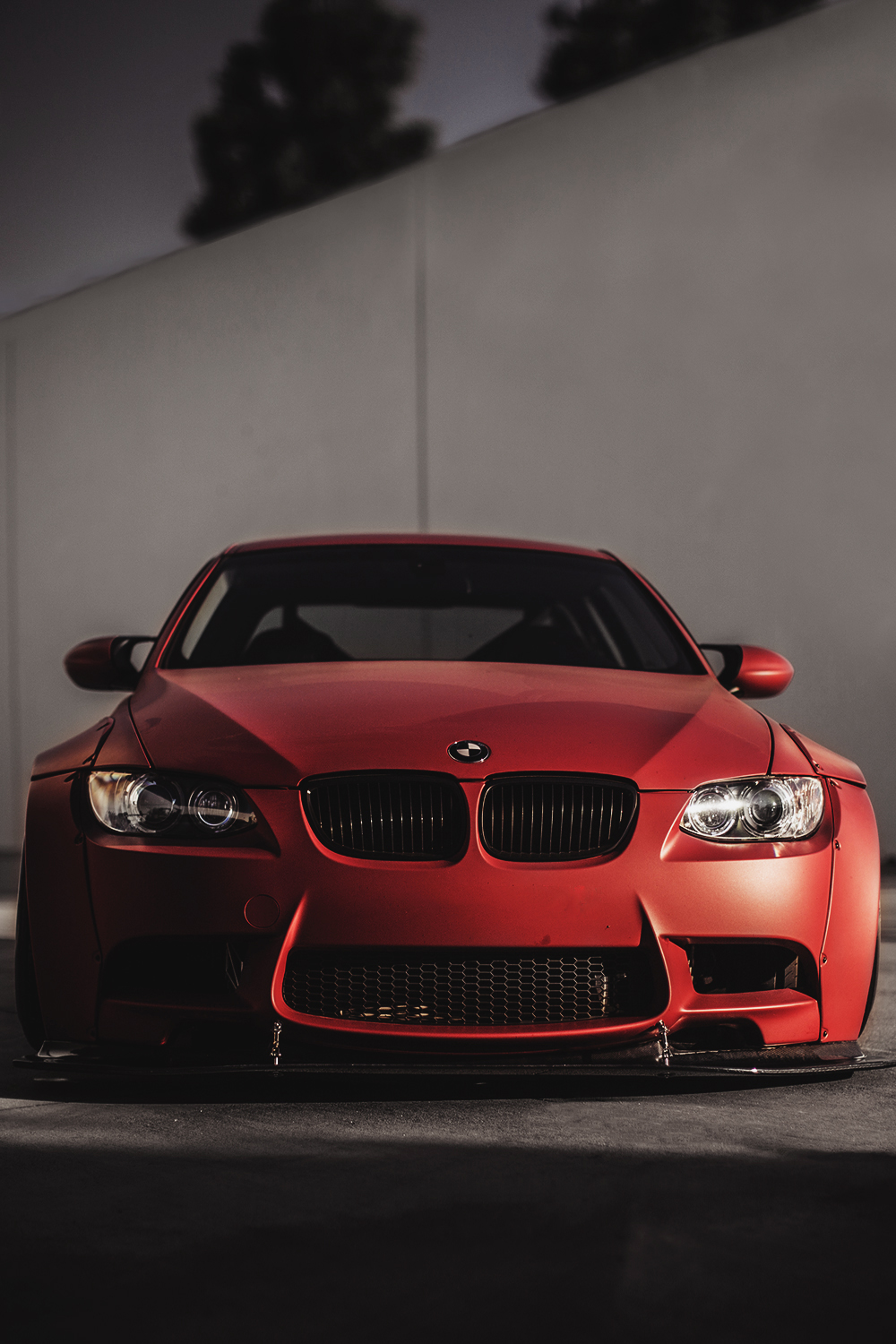 bmw red m3 car motor sportscar speed drive