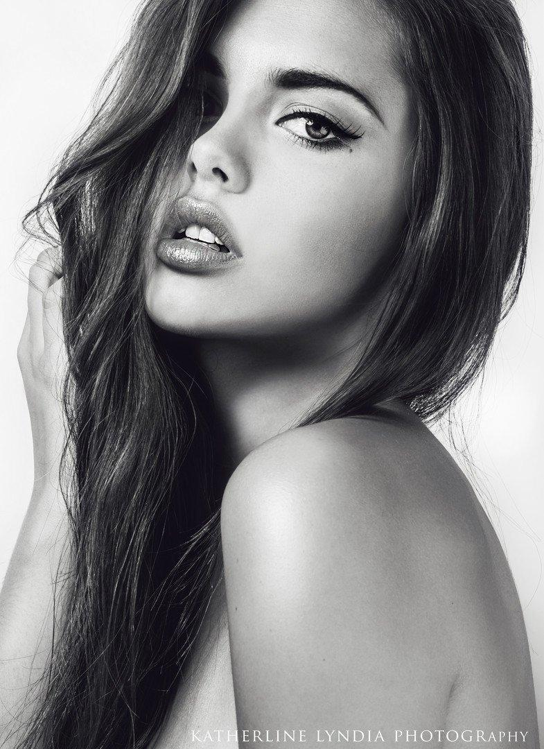 katherline lyndia face model girl black