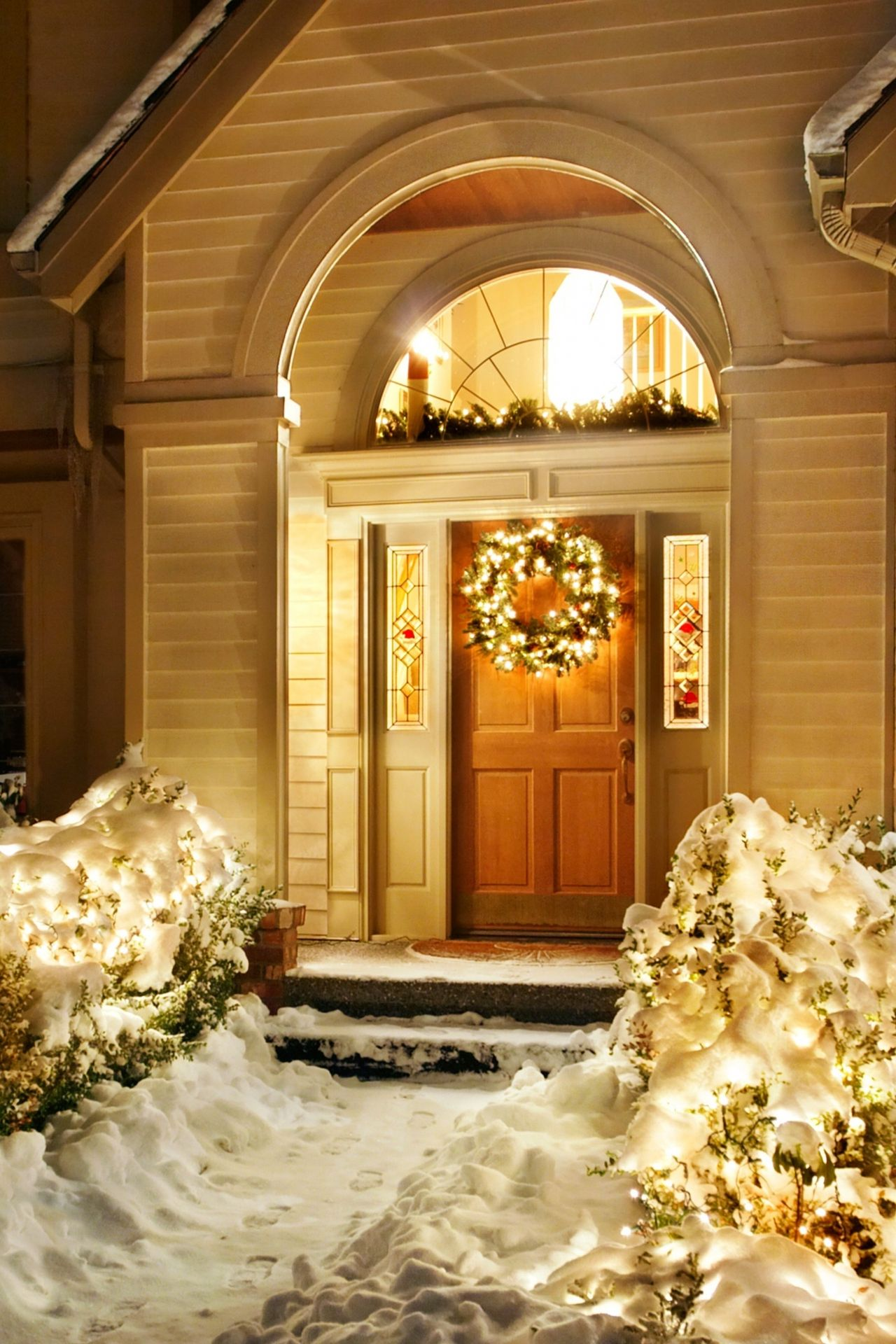 newyear christmas xmas outdoor house decoration 1280x1920