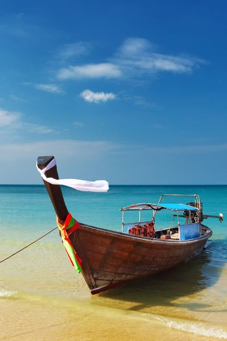 boat sea water ocean sky beach vacation travel summer tropical