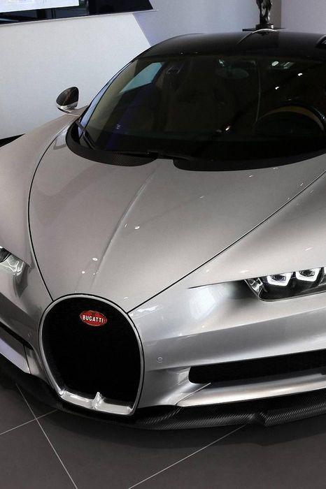 bugatti chiron grey sportcar