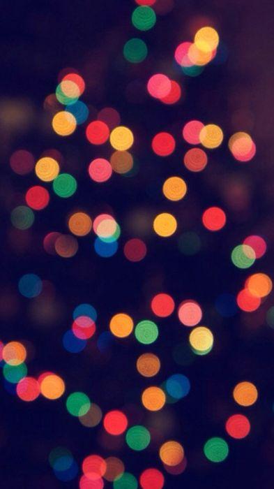 christmas tree bokeh wallpapers lights 1080x1920