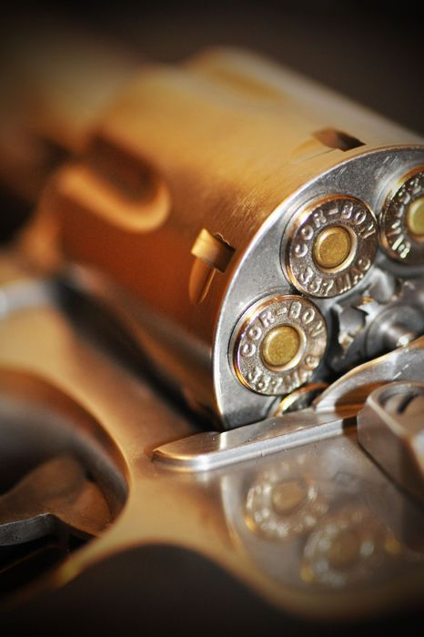 gun macro bullet wallpaper metal