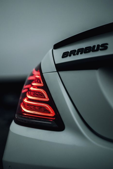 macro mercedes brabus back wallpaper