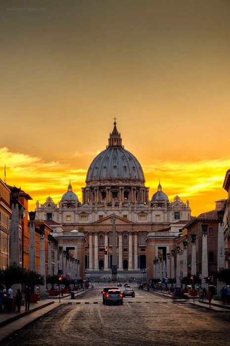 rome vatican architecture church cathedral travel europe tourism city