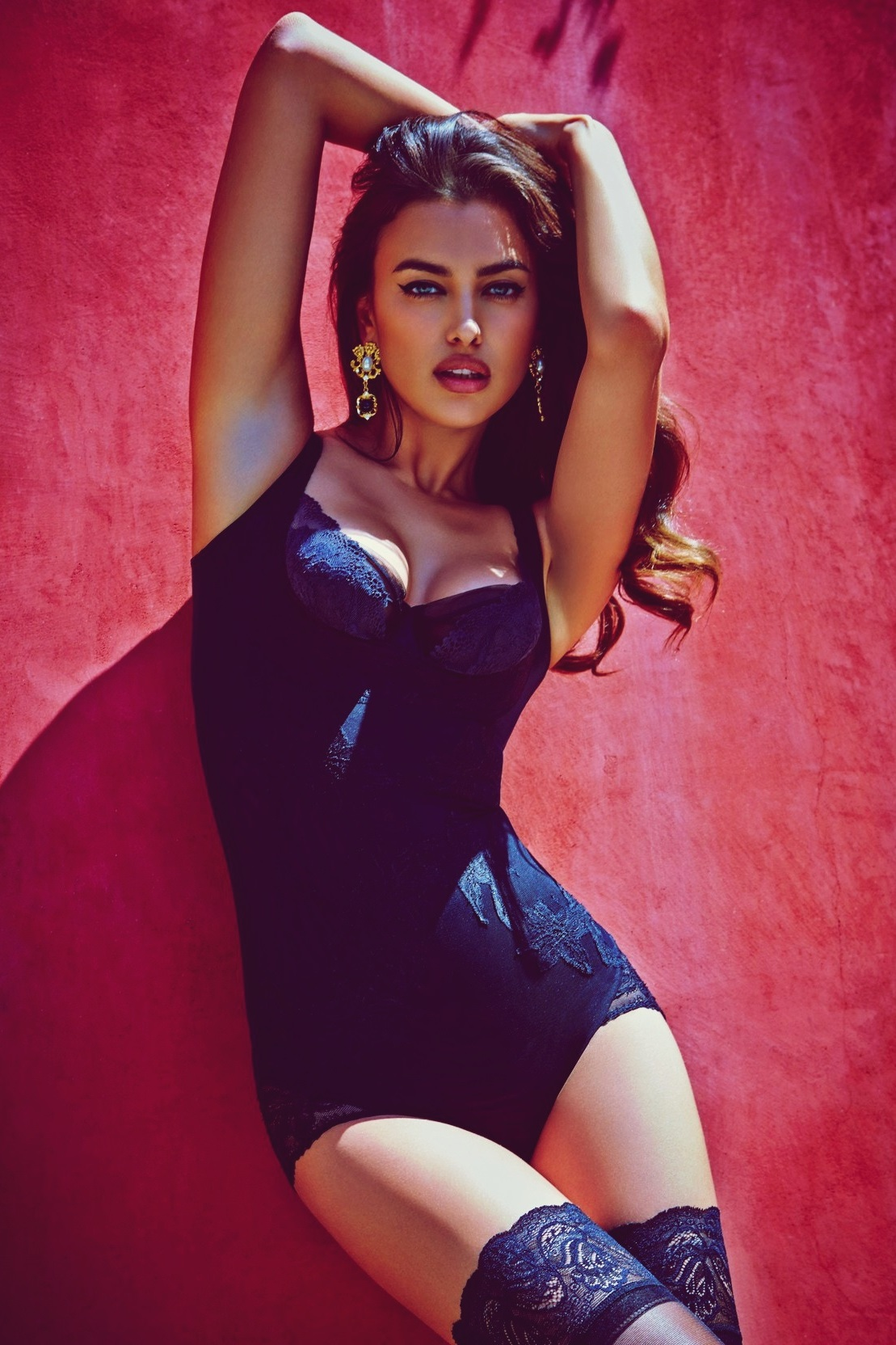 sexy girl irina shayk model attractive pretty adult clothing swimsuit hair fashion