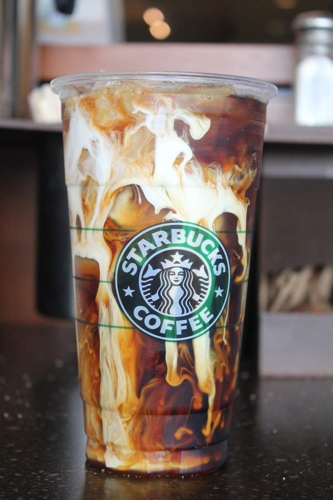starbucks iced coffee