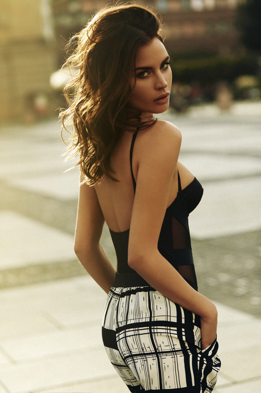 model nela binder adult attractive pretty hair person fashion portrait