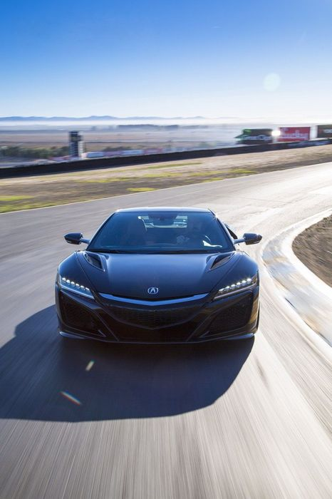 2016 acura nsx sportscar black racing sun speed