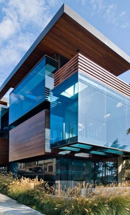 architecture building house city home sky window modern luxury