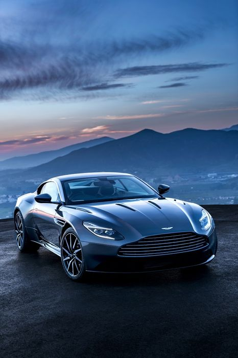aston martin db11 blue mountain coupe sportscar