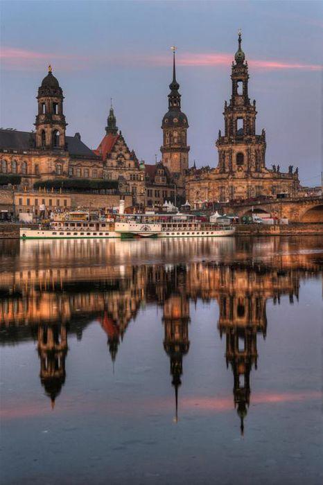 germany katholische hofkirche dresden architecture city building tourism europe river water travel