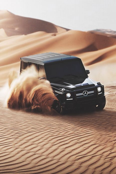 mercedes benz gclass sand black jeep car wallpaper