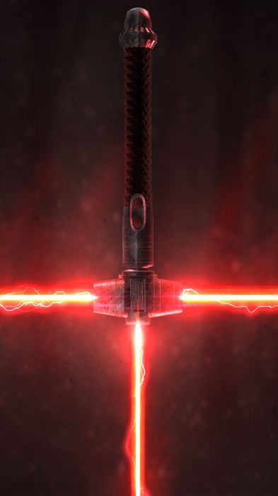 star wars the last jedi light red light warrior movie