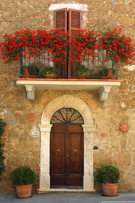 tuscany italy architecture building house old home wall window door stone ancient