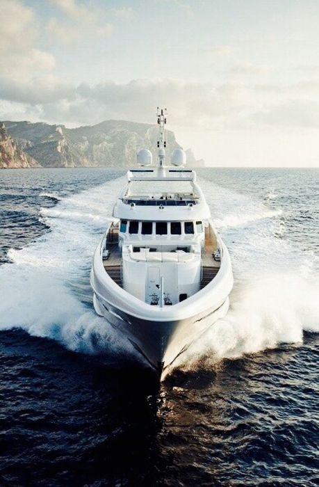 yacht white boat vessel sea vehicle water ocean ship fisherman travel