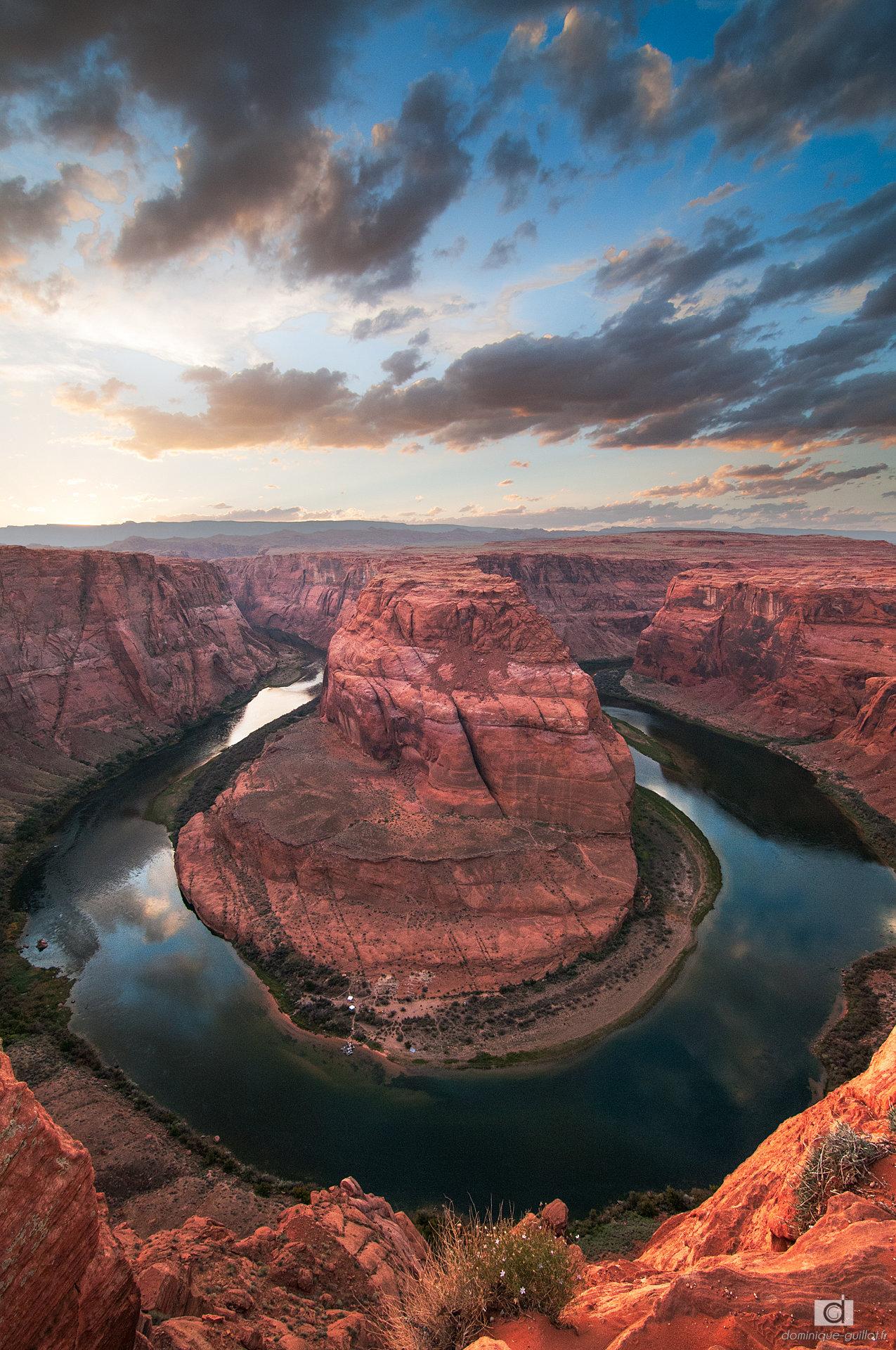 rock canyon landscape colorado river horse valley mountain sky stone national
