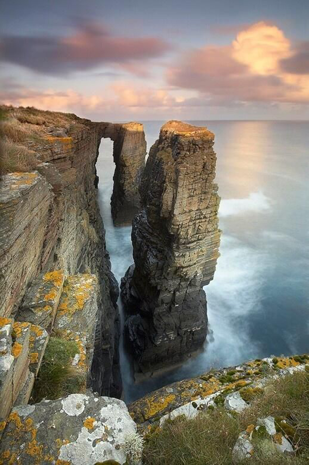 scotland canyon rock valley ravine landscape park national usa mountain