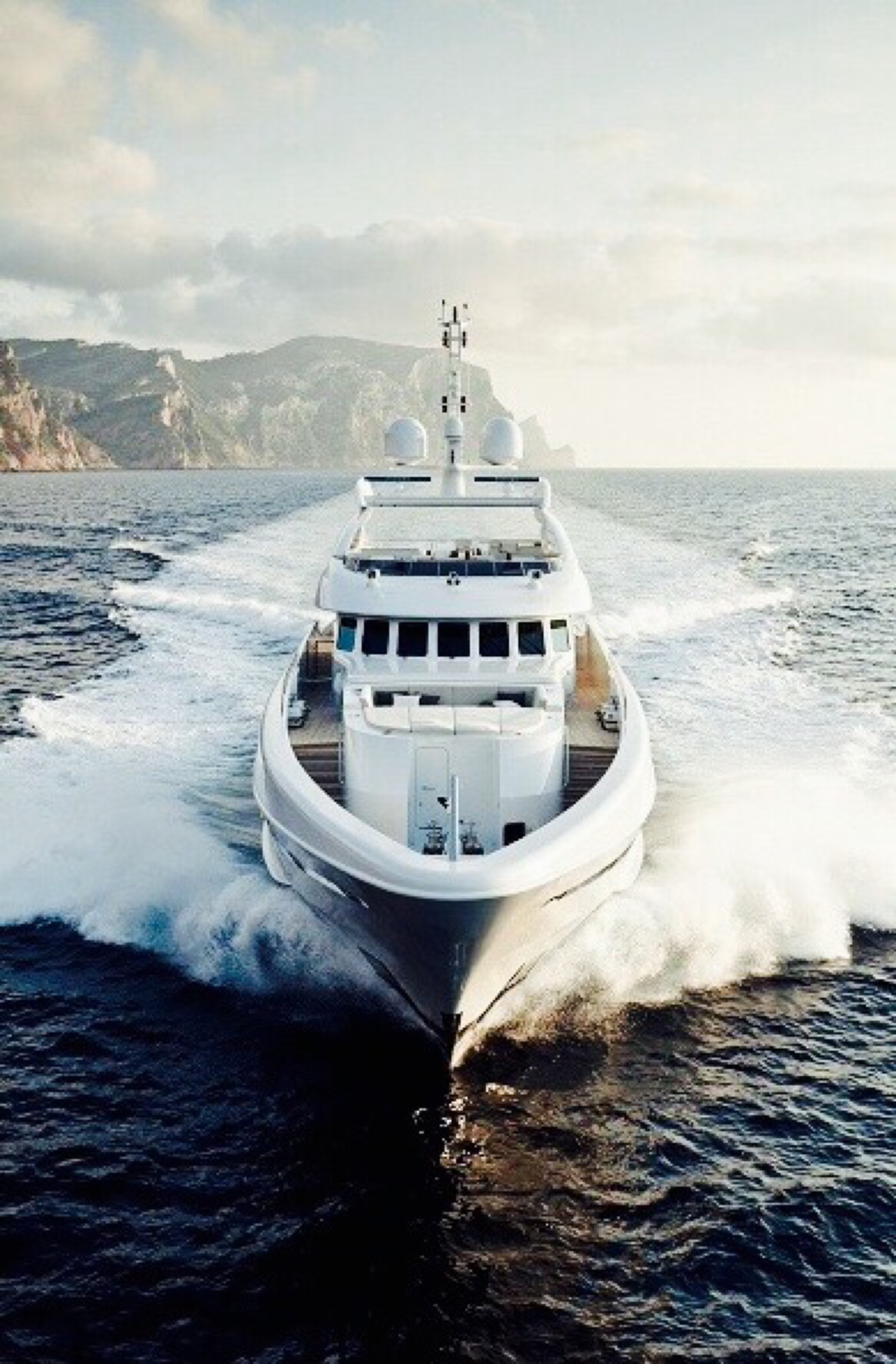 yacht white boat vessel sea vehicle water ocean ship fisherman travel
